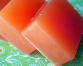 Orange Sherbet Olive Oil Soap VEGAN