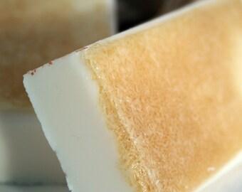 Bar Soap with Organic Sugar Creme Brulee Vegan