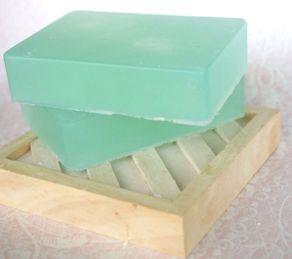 Olive Oil Bar Soap Vegan Cucumber Mint