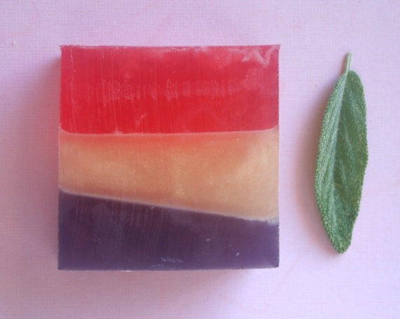 Sage and Citrus Olive Oil Soap