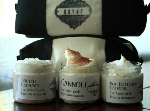Savor Gift Set -- Dessert Scents -- 3 mini Creme Fraiche