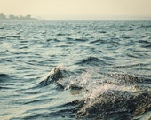 Sea Photography Print for Ocean Lovers - Island in a Blue Bay