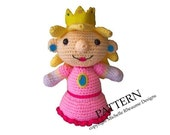 PATTERN Princess Peach Softie