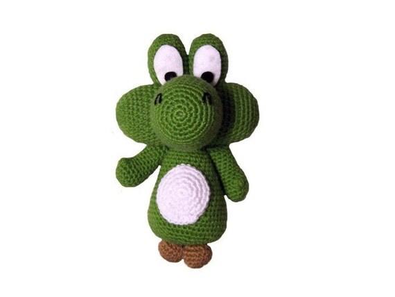Knitting Pattern For Yoshi Toy : Yoshi Crochet Toy