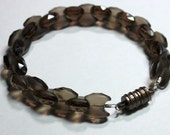 Smoky Quartz bracelet - FREE SHIPPING