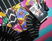Womens ALL SIZES black white STRiPED Native American ethnic retro print PANTiES briefs HaNDMADE UNDeRWEAR