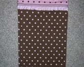 Polka Dot Madness custom nap mat cover