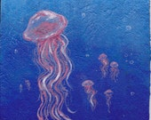 Jellyfish Magnet 3 x 3.5 JELLY FISH 1d