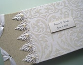 Guest Book - White Lace