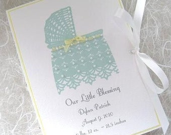 Little Blessing - Photo Keepsake 5x7 or 6x7.5