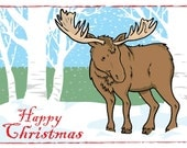Happy Christmas blank cards