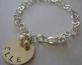 WEAR YOUR HEART ON YOUR WRIST BRACELET reserved for Carolyn