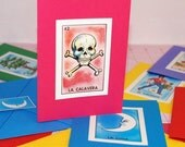 Loteria Note Card Set
