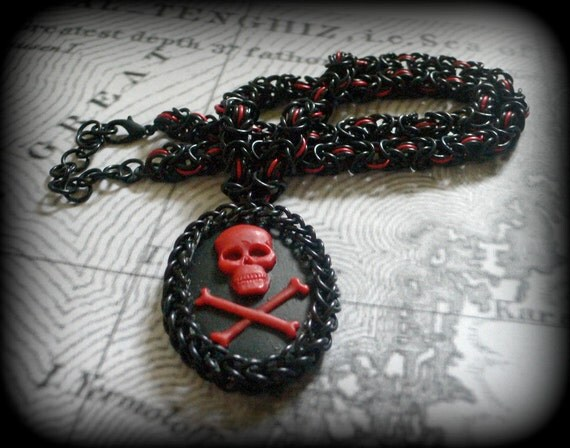 Chainmail Necklace - Pirate Captain