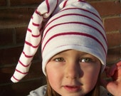 Striped Slouchy Sleeping Hat
