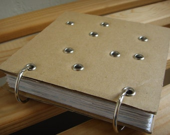 Eco Notebook - Mail and Eyelets