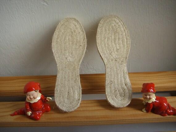 espadrille jute soles . kids sizes . 19 to 31 European sizes