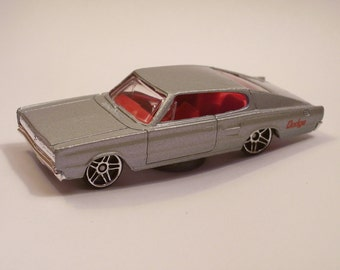 Hot Rod Magnet - 1967 Dodge Charger : Hot Rod, Man Cave, Refrigerator, Tool Box, Stocking Stuffer, Magnet
