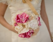 RESERVED for Angie - Custom Fabric Flower Bouquets - Final Installment