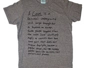 LOYALTY and BLOOD Unisex Mens Cave Tee