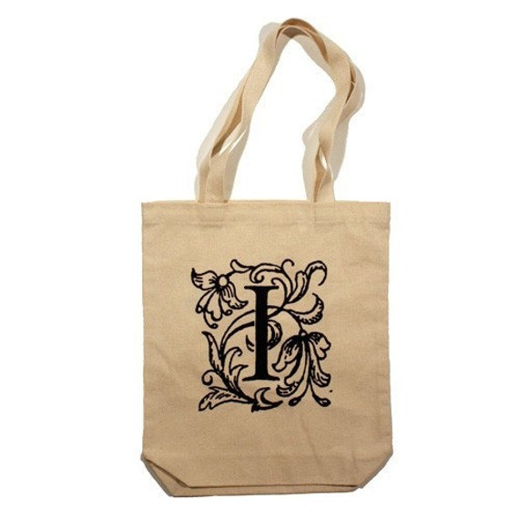LOYALTY AND BLOOD - Letter I Totebag - Small