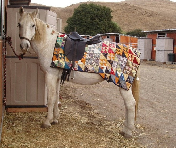 Quilted Quarter Sheet for your Horse, OOAK