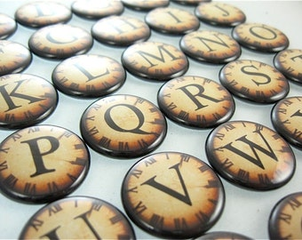 Alphabet Letters Magnets - fits in magnabilities