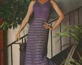 After- Dark Crochet Dress pattern  - (MS71)