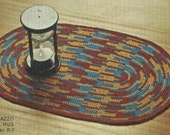 Crocheted Rug Pattern  R7  PDF - Fun for the Winter