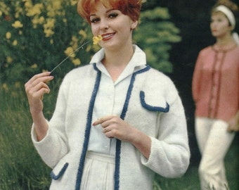 Vintage Knitting Pattern - PART 13- STARK SIMPLICITY