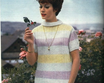 Vintage Knitting Pattern - PART 15- CONTINENTAL CHARM