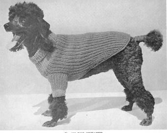 Nifty Retro Doggie Sweater