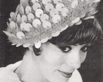 Crochet Bangle Hat Pattern - Pdf - MOHAIR BERET