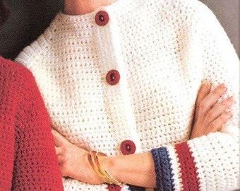SWEATER - Crochet Cardigan Pattern