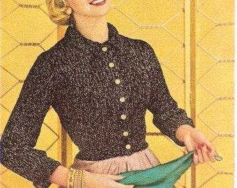 JACKET - Knit Jacket Pattern