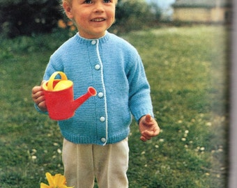TRULY DISARMING - Children's Cardigan pattern