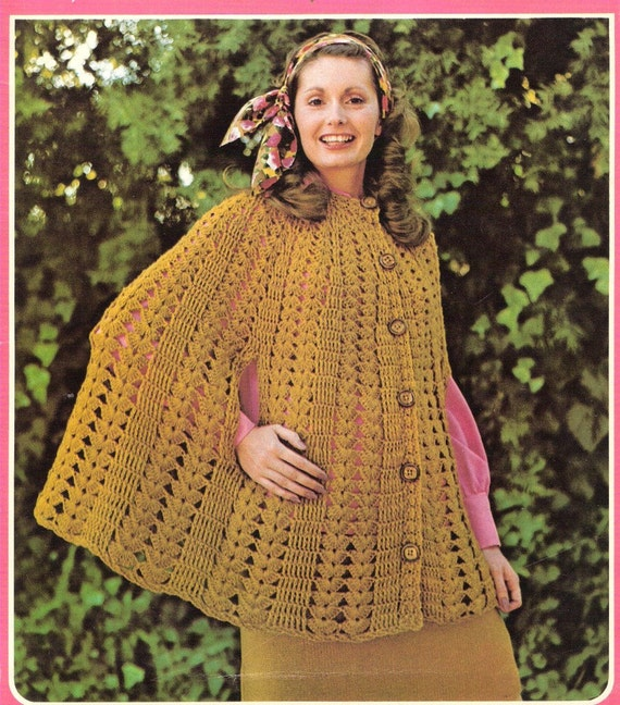 Crochet Patterns Capes : Crochet Patterns Knitting Patterns