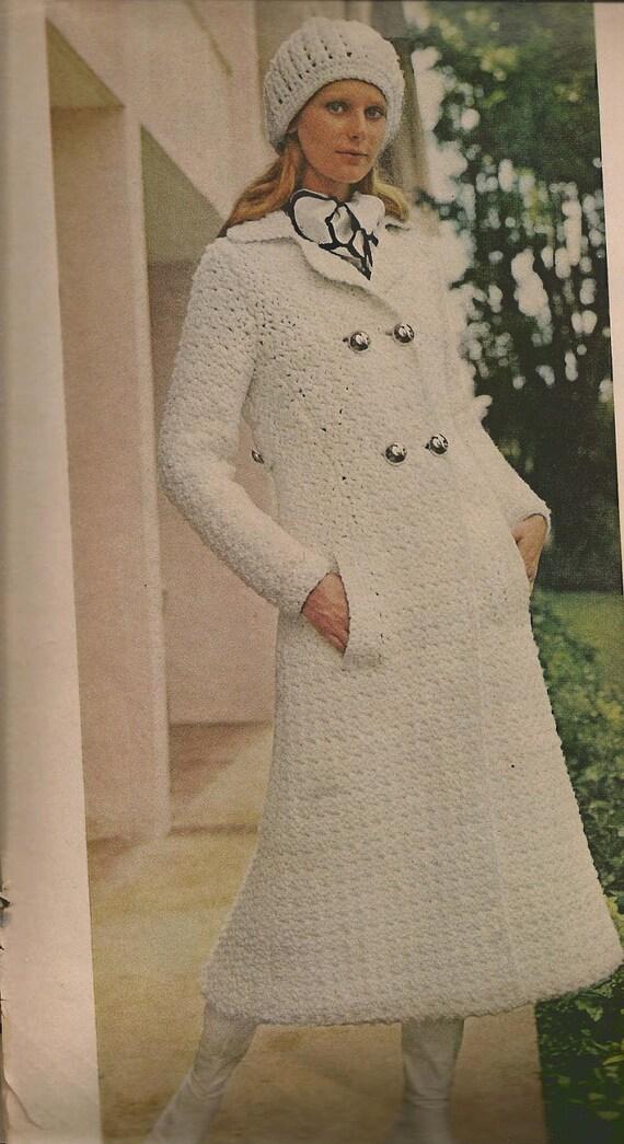 Paris Coat Set - Crochet pattern - (MS71)