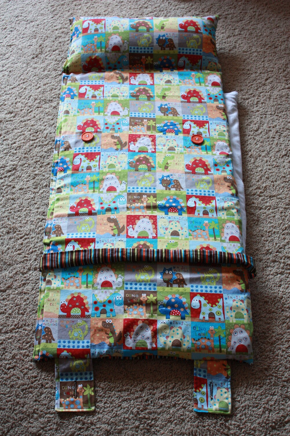 Toddler Boy S Dinosaur Nap Mat