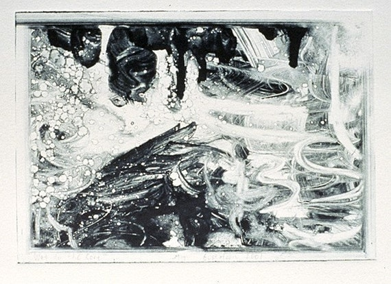 Printmaking Monotype, Monotype Printmaking, Monotype
