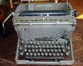 Reserved for FunLan  Vintage - TypeWriter - Underwood - Manual - Typewriter - Underwood Typewriter - Rustic- Home Decor