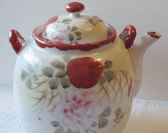 Vintage - TeaPot - China - Kitchen Dining - Teapot - Hand painted
