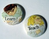 Learn and Teach Button Set