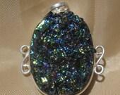 Titanium Drusy Pendant