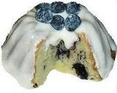 Lemon Blueberry Cream Cheesecake Gift