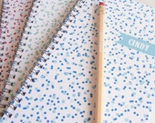 Confetti Personalized Notebook Set - Choice of Colors