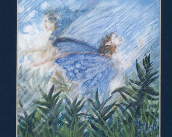 Fairies of the Rain Storm   PRINT