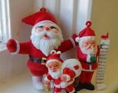 Santa Ornaments 1940 - 1960
