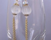 Golden Icicles Earrings