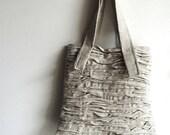 layered pleat bag